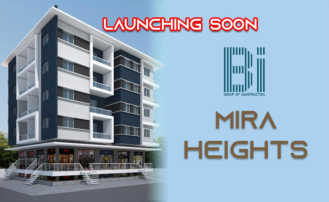 Booking Open for MIRA Heights (1 BHK, 2 BHK, Commercial Apartment) Miraj